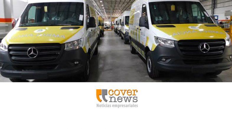 El Gobierno de Formosa adquirió ambulancias Mercedes-Benz Sprinter