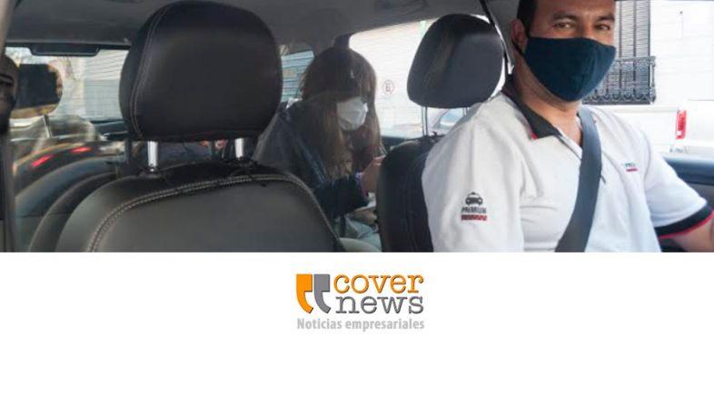 Los taxis retoman la actividad a partir de la aplicación en el celular